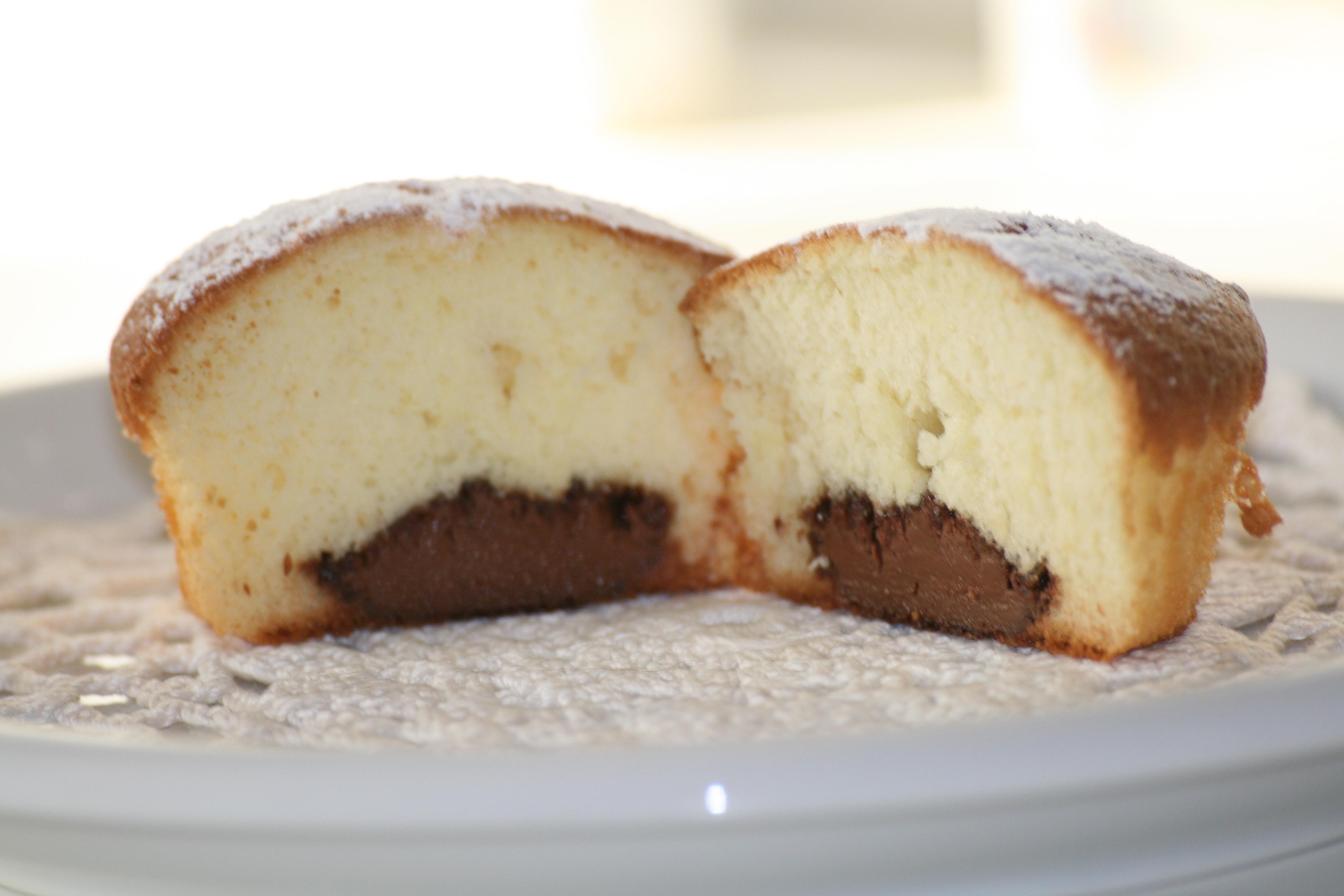 Muffins Con Cuore Di Nutella Maria Cristinas Kitchen